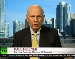 Paul Hellyer interview en Russia Today