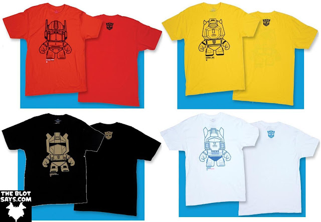 The Loyal Subjects x Transformers T-Shirt Collection Series 1 - Optimus Prime, Bumblebee, Grimlock & Jazz