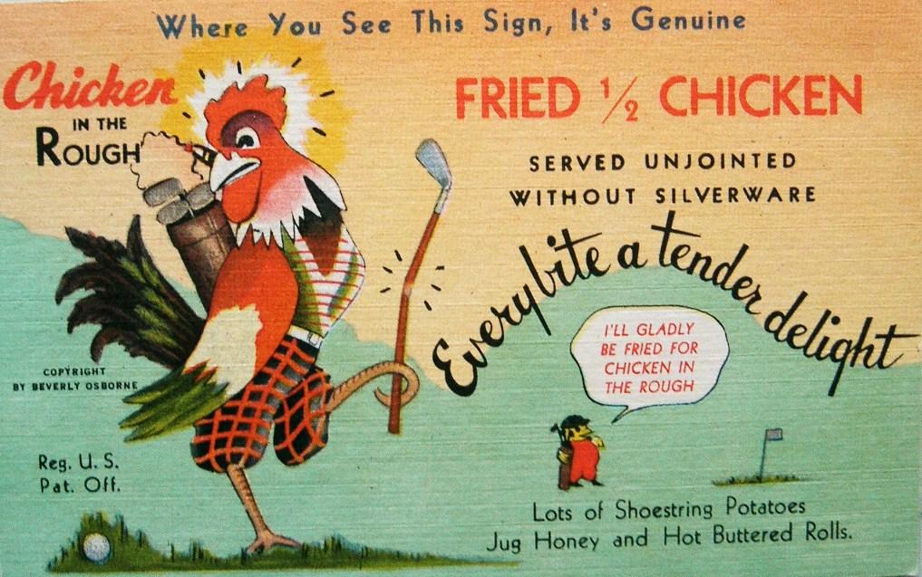 postcardiva postcard blog: Linen ADVERTISING Postcards 1930 - 1940s