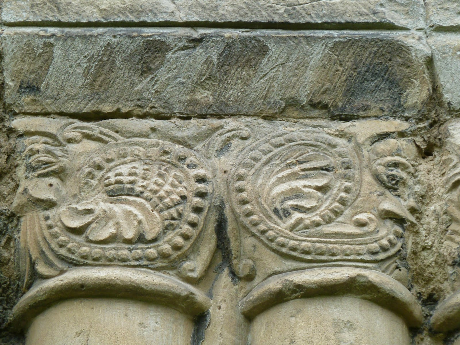 stone carving Wenlock Priory