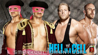 Spoilers for WWE Hell in a Cell 2014 PPV Poster Matches