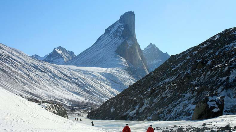 Monte Thor - La mayor caída vertical en la Tierra