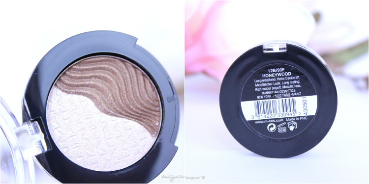 MANHATTAN Farbrausch 3D Effect Eyeshadow Honeywood