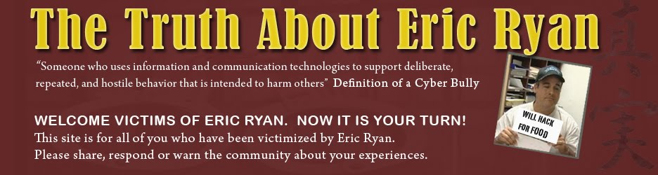 Beware of Eric Ryan