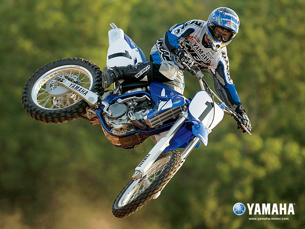 Yamaha YZ 450F Dirtbike bike wallpaper