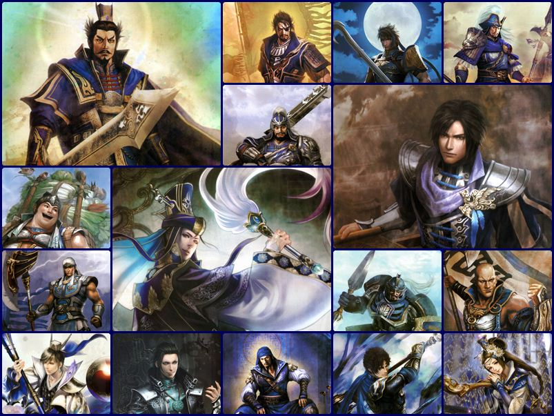 Dynasty Warriors 8 Artworks - วุยก๊ก