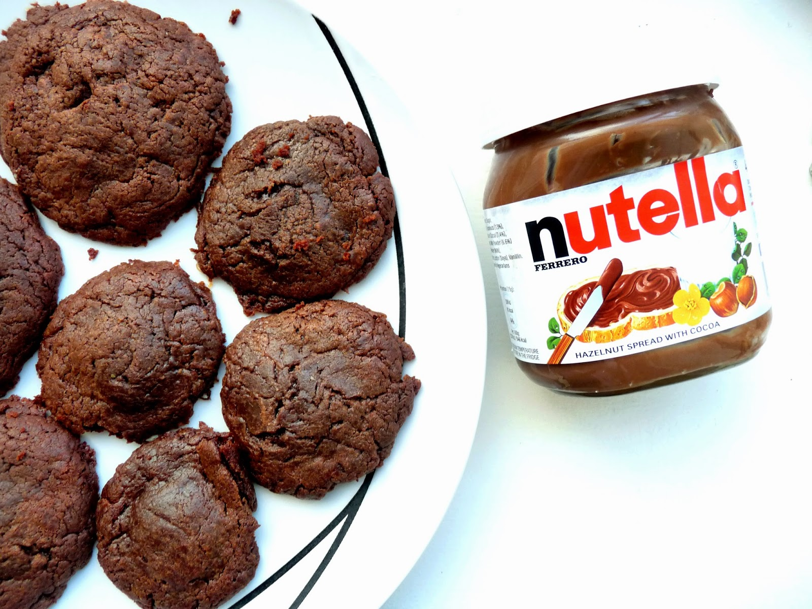Nutella Filled Chocolate Cookie Recipe
