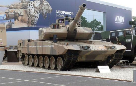 Tank Leopard 2A7+