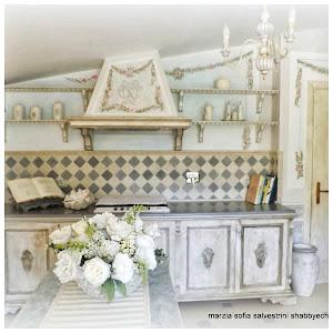 La cucina Gustavian Chic