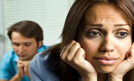 6 Signs Your Marriage Could Fail  - sad woman girl bad relationship couple