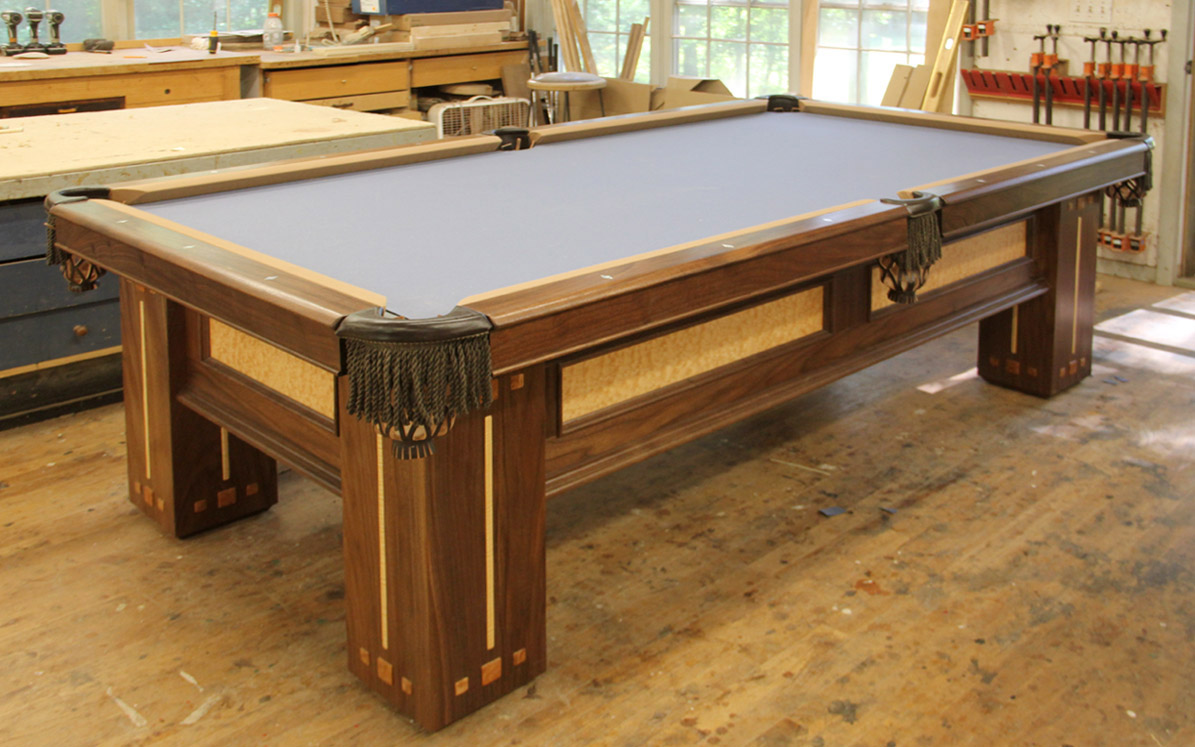 Dorset Custom Furniture A Woodworkers Photo Journal A Custom Pool - Pool table wanted