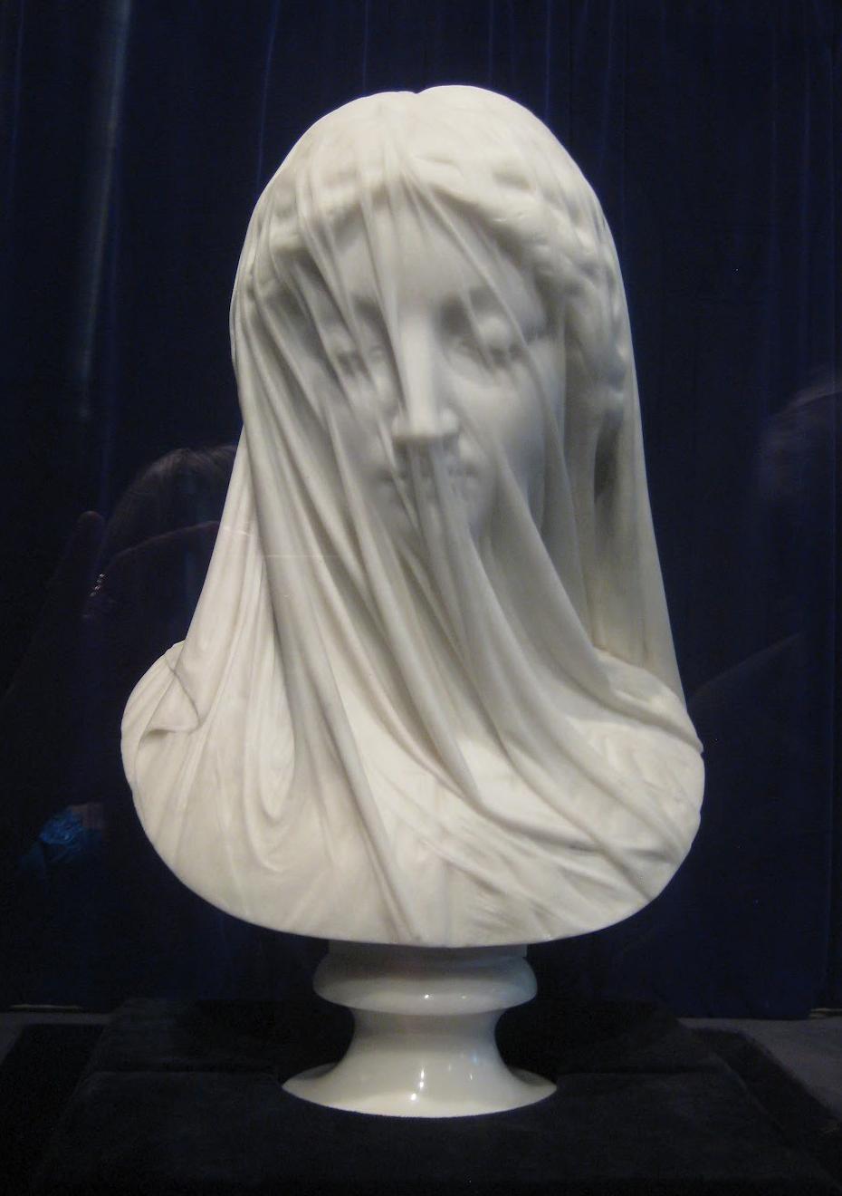 El arte de ruben reveco la virgen del velo for Se puede pintar el marmol