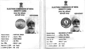 India Voter ID Card