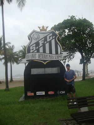 Símbolo do Santos Futebol Clube, em Santos - SP