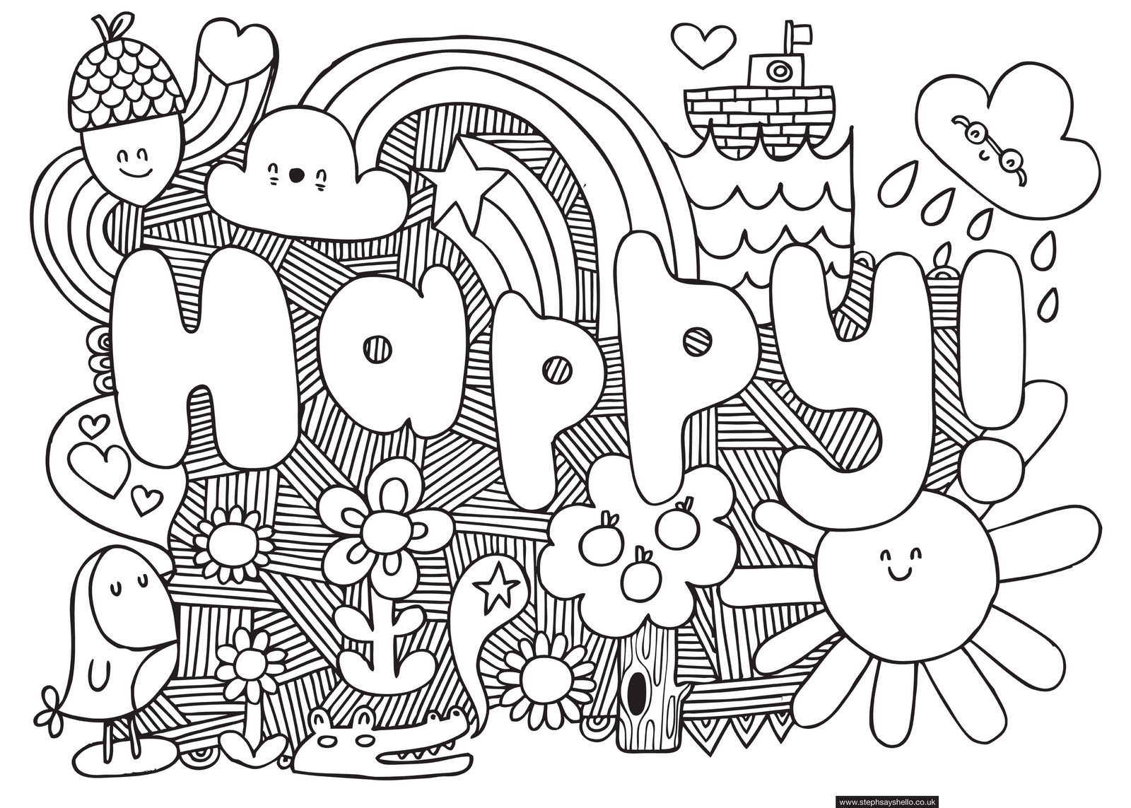 Pretty cool things to coloring pages for Coloring pages cool