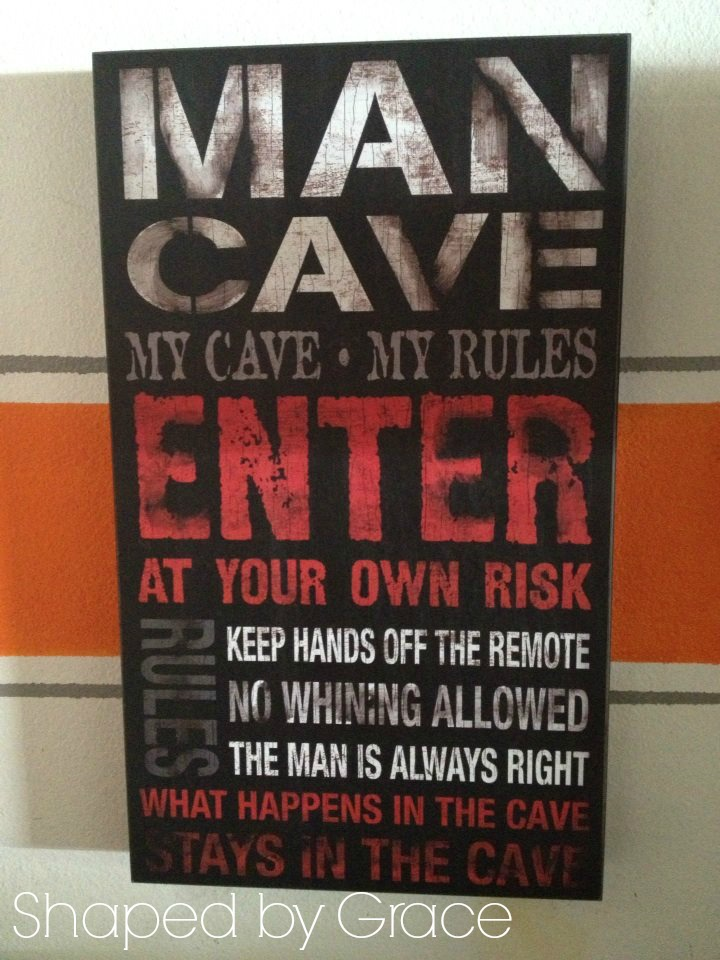 Shaped By Grace Mini Man Cave