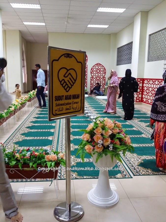Nikah Masjid Usamah Bin Zaid di Masjid Usamah Bin Zaid