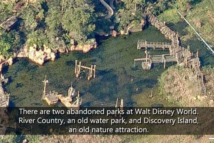 World Of Mysteries Things You Didnt Know About Disney Theme - Walt disney world river country map
