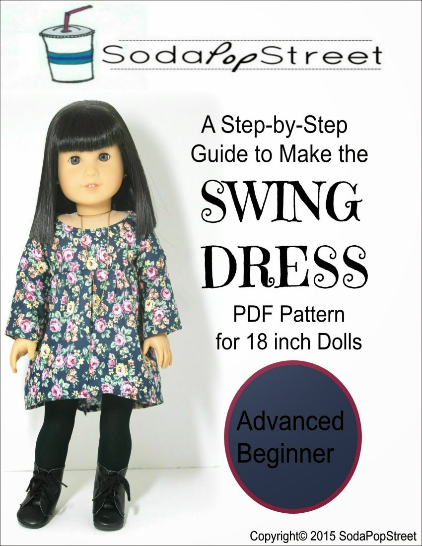 http://www.pixiefaire.com/collections/18-inch-doll-dress-patterns/products/the-swing-dress-18-doll-clothes