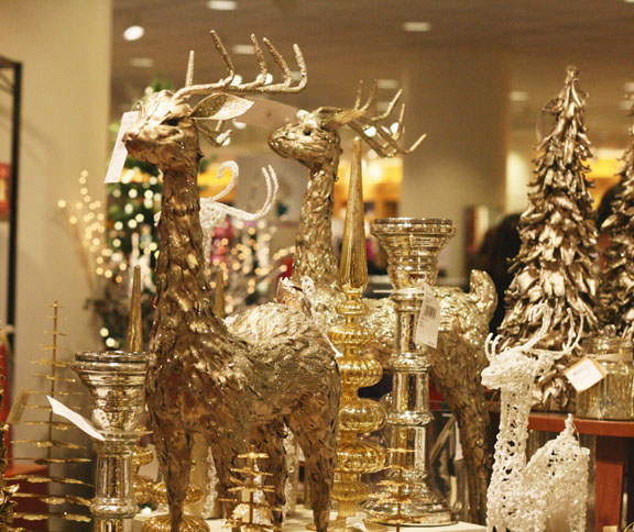 christmas decorations at nordstrom