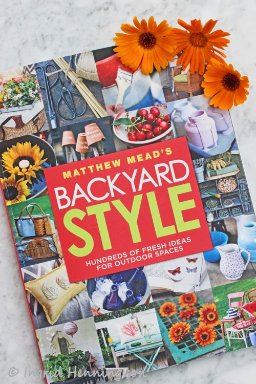 Book cover-Backyard Style by Matthew Meads