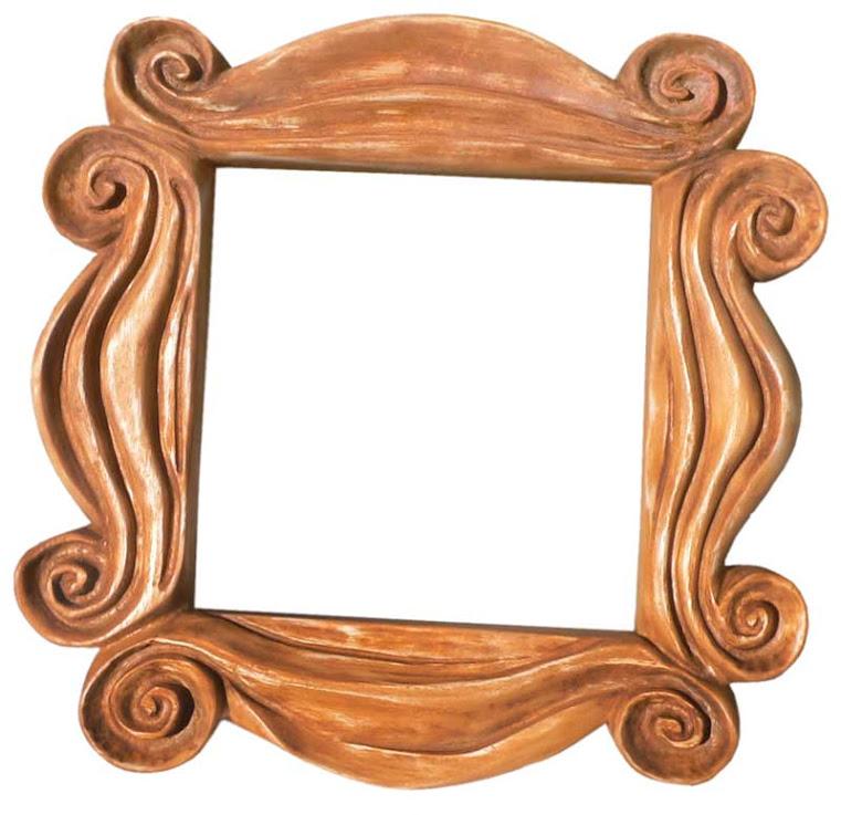 Entalhe em madeira - Moldura espelho