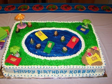 Cake Decoration For Kid : Cats, Kids and Crafts: Cake Decorating Ideas