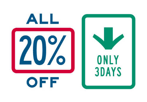 coen ALL 20% OFF ONLY 3DAYS