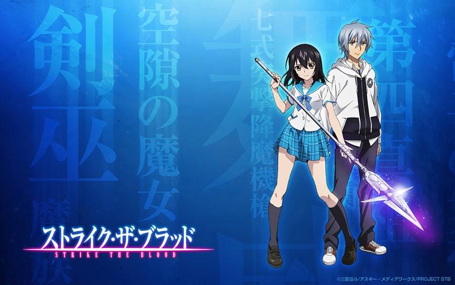 Sinopsis Anime Strike The Blood