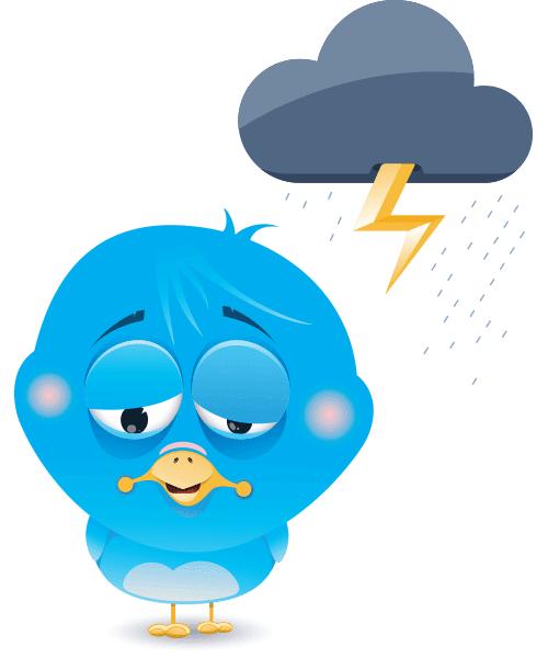 Gloomy Bird Icon