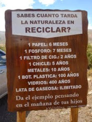 No ensuciemos la naturaleza
