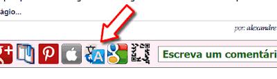 botão de Google Translate