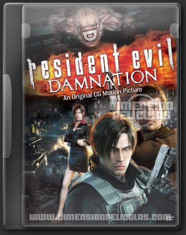 Resident Evil Damnation (DVDRip Inglés Subtitulado) (2012)