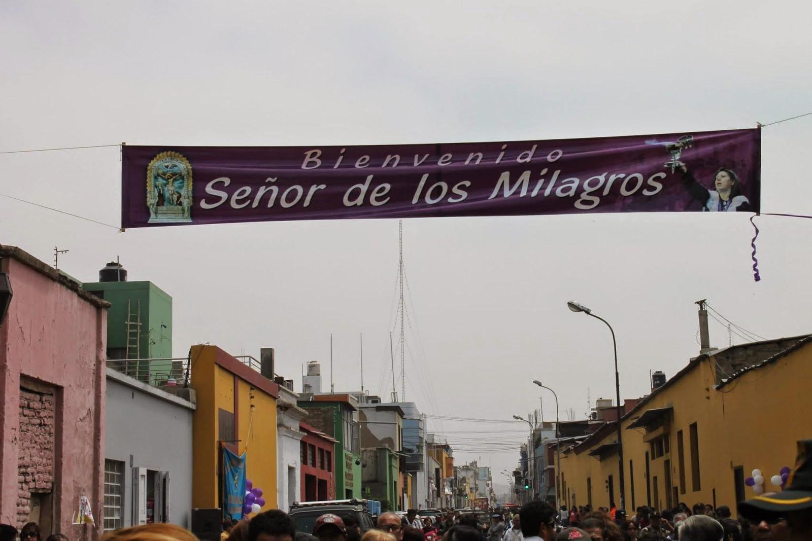 PROGRAMA DEL SEÑOR DE LOS MILAGROS DE TRUJILLO 2014