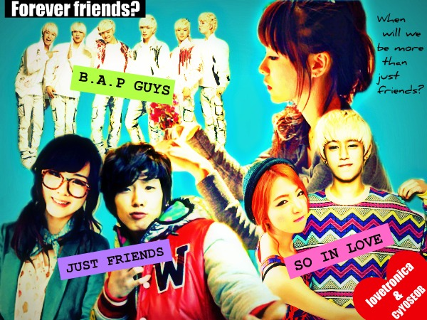 Forever friends? - comedy friendship romance love himchan bap daehyun - main story image