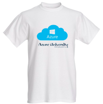 Be a part of my site and get a Azure University T-Shirt