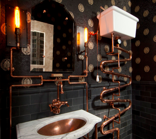 Steampunk decor has gone mainstream