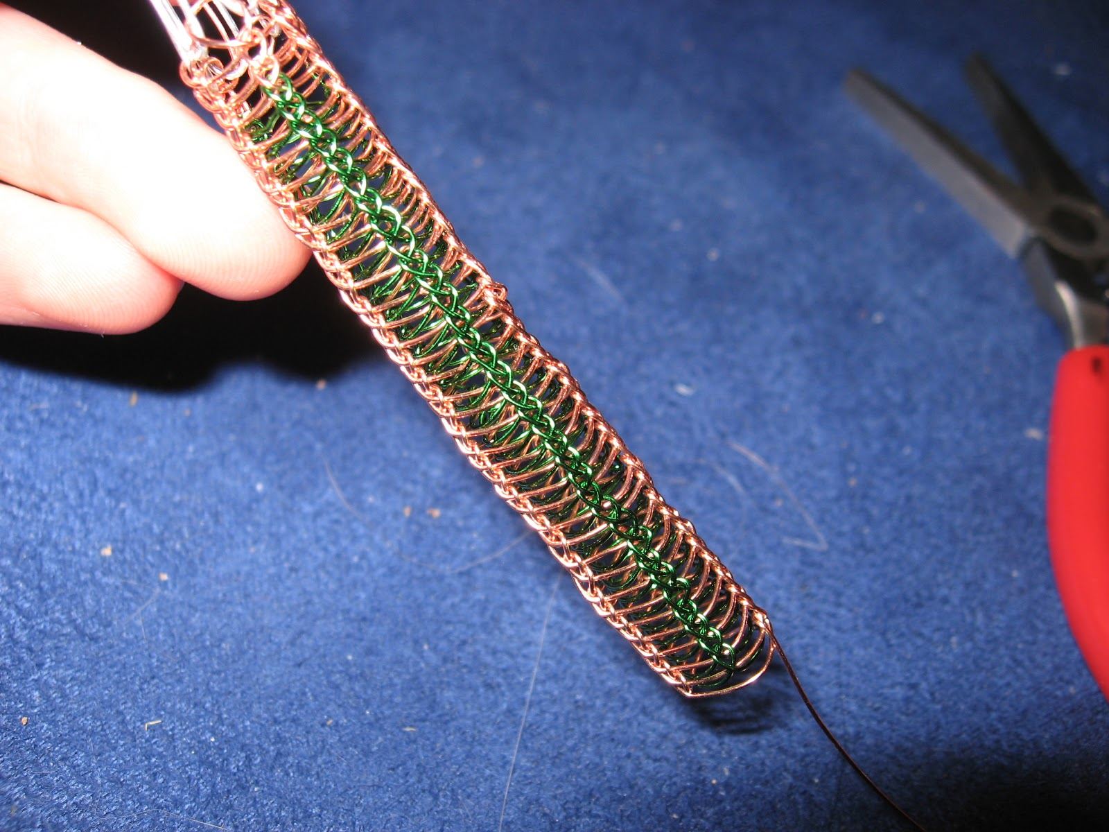 The Mad Crafter: Viking Chain Knitting