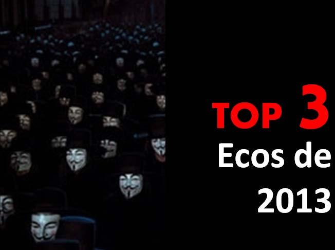 Top 3 - Ecos de 2013