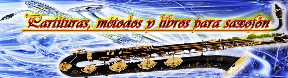 partituras metodos y libros para saxofón