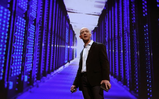 Jeff Bezos Amazon AWS CIA