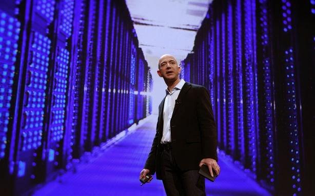 Jeff Bezos Amazon AWS CIA
