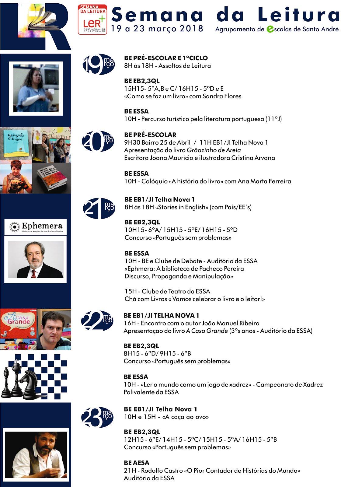Programa da Semana da Leitura