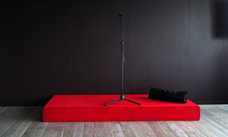Open mic stand-up comedy
