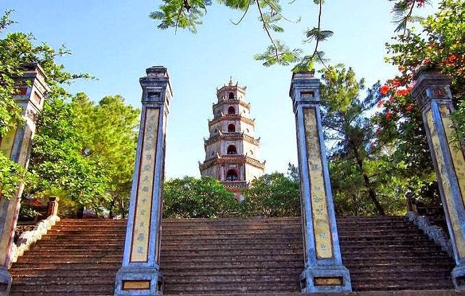 chùa thiên mụ huế