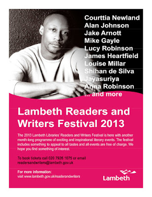 Lambeth Readers and Writers Festival brochure