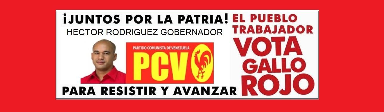 """Partido Comunista de Venezuela Comité Regional """"Gustavo Villaparedes"""" Estado Miranda"""