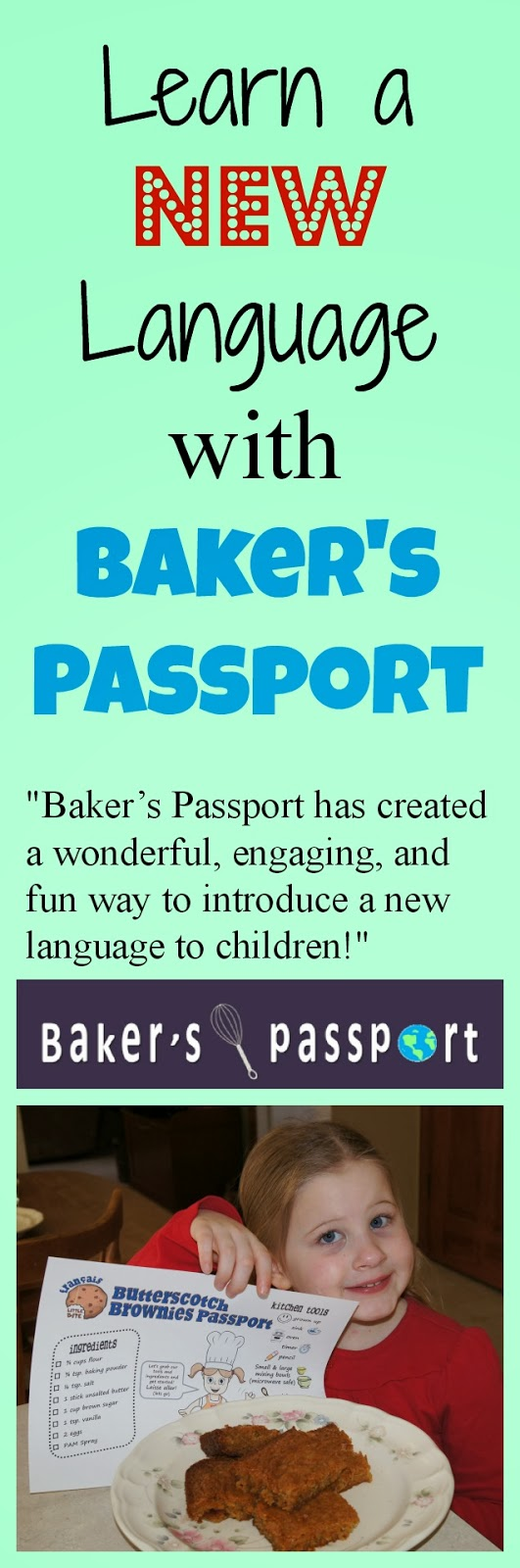 Learn a New Language with Baker's Passport