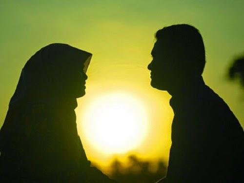 Siluet suami istri