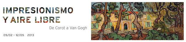 Impresionismo y aire libre. (de Corot a Van Gogh)